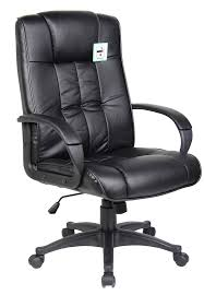 Computer Chair by Cream Padded Pu Leather Executive Swivel Office Chair Computer