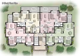 Apartment Building Plans Design Captivating Decor Decor Apartment Building Plans Townhouses
