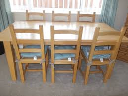 beech extending dining table images solid beech dining table and 6 chairs in great yarmouth norfolk