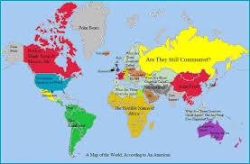 map of american living rootless another geography lesson americans map of the world