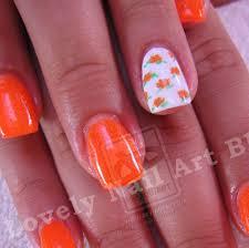 40 orange acrylic nail designs nails pix