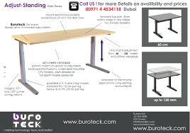 Standing Desk On Top Of Existing Desk Desk Enchanting Stilford Electric Height Adjustable Desk 1400mm