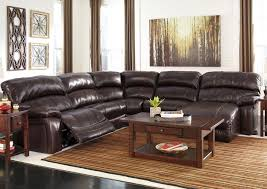 ashley leather sofa recliner ashley furniture outlet chicago furniture stores brown leather
