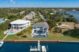 Hutchinson Island Florida Map by Florida Waterfront Property In Fort Pierce Stuart Palm City
