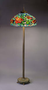 stained glass torchiere l shades top 61 class floor lights glass l shades torchiere curved bedside