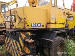 used tadano ts100l rough terrain cranes year 2006 price 20 000