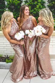 gold color bridesmaid dresses starla sle in sequin bridesmaid dresses revelry
