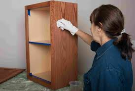 how to stain unfinished oak cabinets how to stain and finish wood cabinets