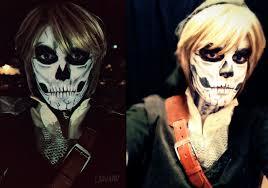 Dark Link Halloween Costume Link Cosplay Skull Laovaan Deviantart