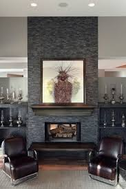 Fireplace Wall Tile by 75 Best Fireplaces Pebble And Stone Tile Images On Pinterest