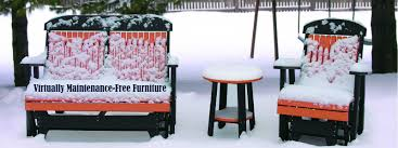Patio Furniture Guelph by Environmentally Friendly Patio Furniture Made From Recycled Plastic