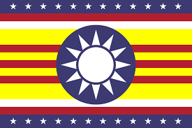 Taiwan Country Flag Combination Of Republic Of China Taiwan Republic Of Vietnam
