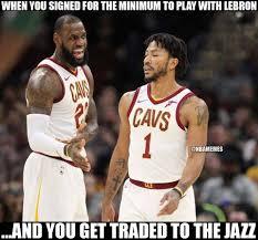 Derrick Rose Meme - nba memes derrick rose got traded to the jazz facebook