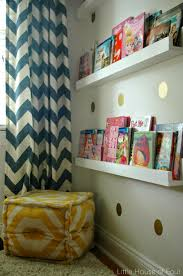 navy coral and yellow bedroom reveal little house of four