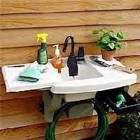 backyard gear outdoor sink backyard gear waterstation plus outdoor furniture