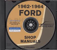 1962 1964 ford fairlane 62 63 mercury meteor cd repair shop manual
