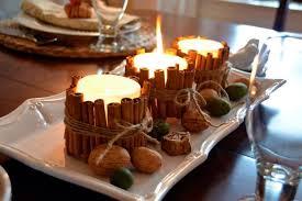 composizione di candele come decorare le candele con la cannella