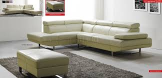 Full Top Grain Leather Sofa by Off White Top Grain Full Leather Modern Sectional Sofa