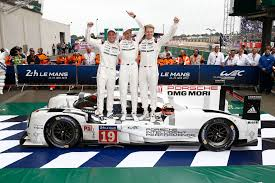 porsche 919 hybrid 2015 one two and five for the porsche 919 hybrids in le mans car