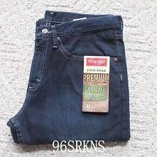 Real Comfortable Jeans Wrangler Low Rise Dark Jeans For Men Ebay