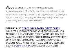 free logo design software logo design software review free logo design software