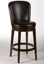 Black Backless Counter Stools Furniture Saddle Seat Counter Stools Swivel With Nailhead Trim