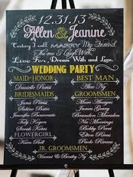 wedding program board wedding program chalkboard search wedding ceremony