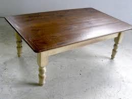 Hardwood Coffee Table Farmhouse Coffee Tables