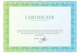 10 stock share certificate template vector eps psd format