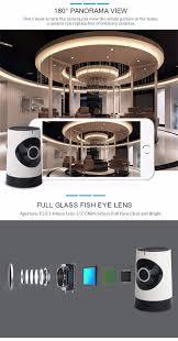 Home 4g by New 4g 3g Home Smart Ip Camera Wifi 180 Degree Fisheye Vr View