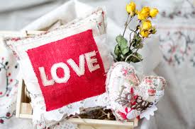 make your own shabby chic love pillow the creative studio