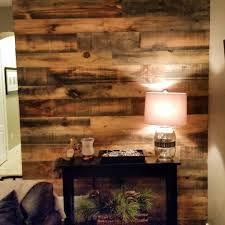 Reclaimed Wood Paneling One Bedroom Wall Diy Feature Wall Project By One Of Our Clients They Used Our