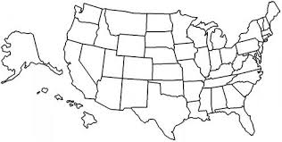 visited states map visited states map my
