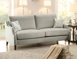 Gray Nailhead Sofa Sophia Graphite Grey Sofa W Nailheads Sofas U0026 Couches Abode