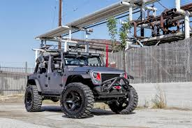 modified jeep highly modified omix ada sema cares jeep sells at auction