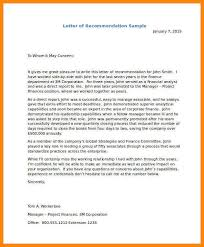 how to write a professional letter of recommendation
