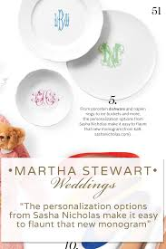 wedding and gift registry custom monogrammed dishes gifts to elevate every day for