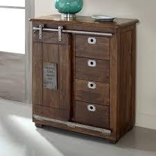 4 Door Cabinet Coast To Coast 68220 Four Drawer One Door Cabinet In Warm Brown