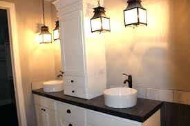 idea three light bathroom fixture and insulator glass 3 light bath