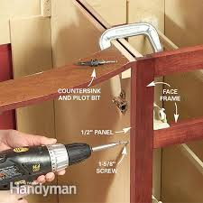 best screws for attaching cabinets together how to mount cabinets together functionalities net