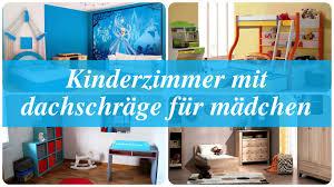 Schlafzimmer Dachgeschoss Einrichtung Kinderzimmer Mit Dachschräge Für Mädchen Youtube