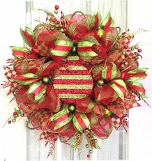 deco mesh ideas christmas wreaths 75 ideas for festive fresh burlap or mesh