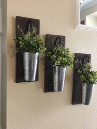 Metal Wall Planter by Rustic Wall Decor Rustic Decor Farmhouse Wall Decor Wall Decor