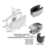 Shower Door Bottom Guide Adjustable Stainless Steel Sliding Shower Door Bottom Guide From 1