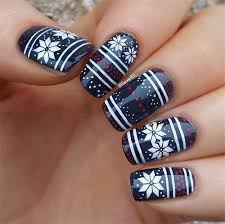 15 ugly christmas sweater nail art designs ideas u0026 stickers 2015