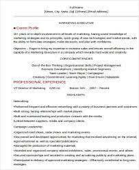 31 executive resume templates in word free u0026 premium templates