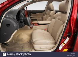 2007 lexus gs 350 awd 2007 lexus gs 350 in red front seats stock photo royalty free