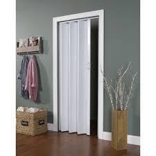 Vinyl Accordion Closet Doors Encore White Folding Door Wall Vinyl Doors And Walls