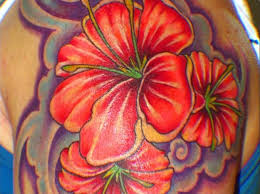 Tropical Themed Tattoos - floral tattoos designs and ideas page 18