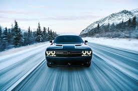 Dodge Challenger Tire Size - dodge u0027s v6 powered challenger gets ready for winter with all wheel